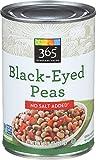 365 Everyday Value, Black-Eyed Peas, No Salt Added, 15.5 oz