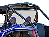 SuperATV Clear Rear Windshield for Honda Talon 1000R / 1000X (2019+) - 250x Stronger Than Glass!