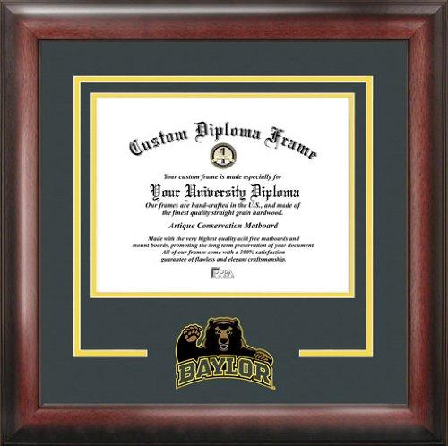 Laminated Visuals Baylor University Bears - College Mascot - Spirit Mat Cutout - Diploma Frame