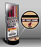 Miami Heat My First Game Ticket Display Stand