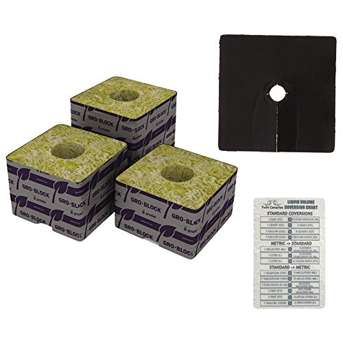2 Pack Bundle: Grodan Delta 10 Block 4