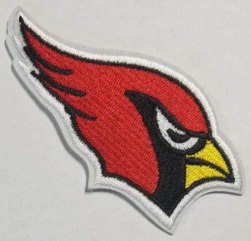 Cardinal Patch - Arizona Cardinals Embroidered Logo Iron On Patch