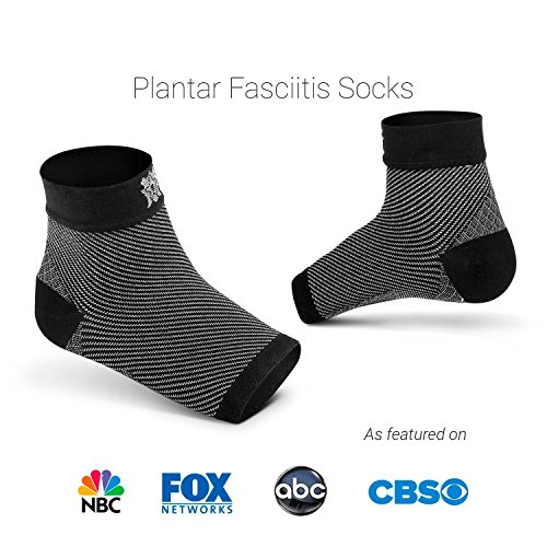 Bitly FBA_PFB_S_1101 Plantar Fasciitis Socks (1 Pair) Premium Ankle Support Foot Compression Sleeve (Small) by Bitly (Image #8)