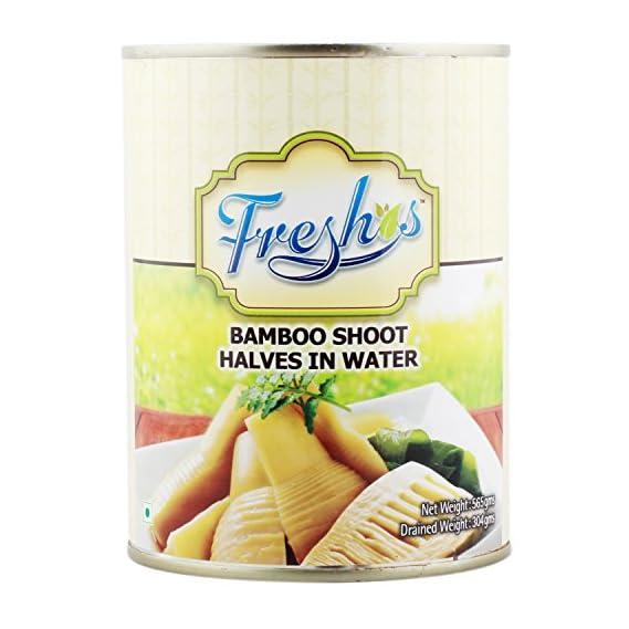 Freshos Bamboo Shoot Halves in Water, 565g