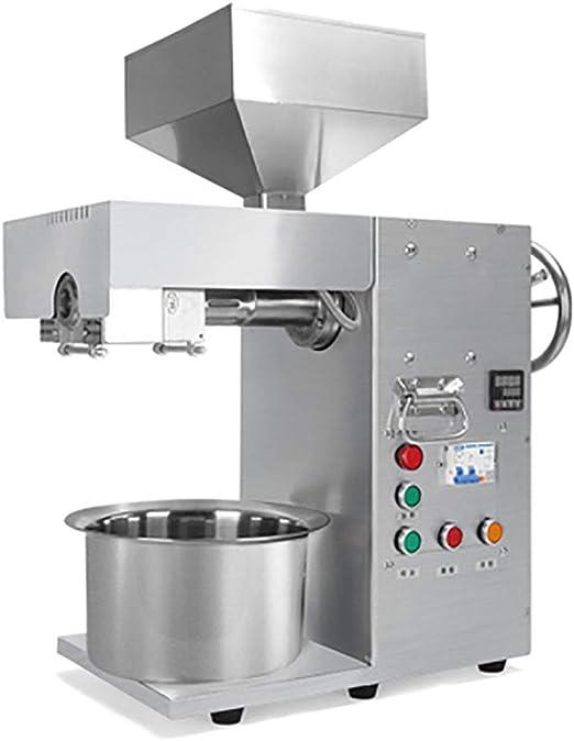 BMGIANT máquina de prensa automática de aceite industrial de acero inoxidable prensado en frío, aceite de