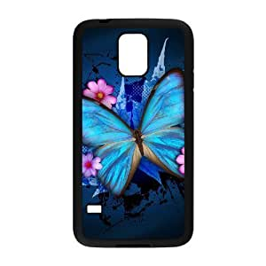 HB-P-CASE DIY Design Butterfly Pattern Phone Case For SamSung Galaxy S5 i9600