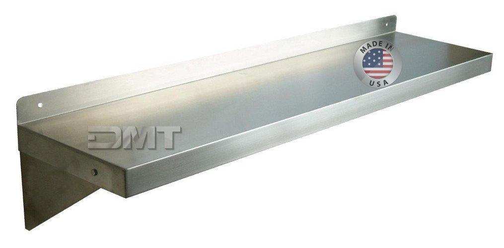 DMTステンレス壁シェルフ。36