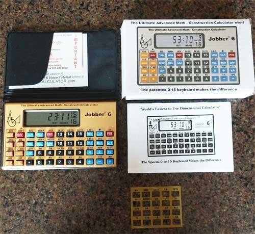 Jobber 6 Construction Calculator