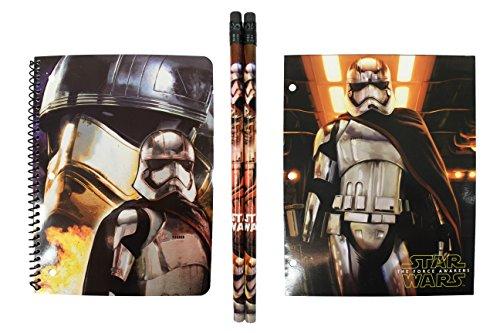 Costume Design Resume (Disney Star Wars CAPTAIN PHASMA Back To School Set~ Journal, Folder, Pencils)