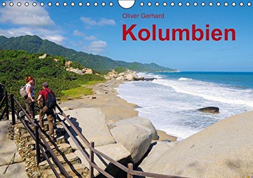 Kolumbien (Wandkalender 2015 DIN A4 quer): Zwischen Küste und Kordillere (Monatskalender, 14 Seiten)