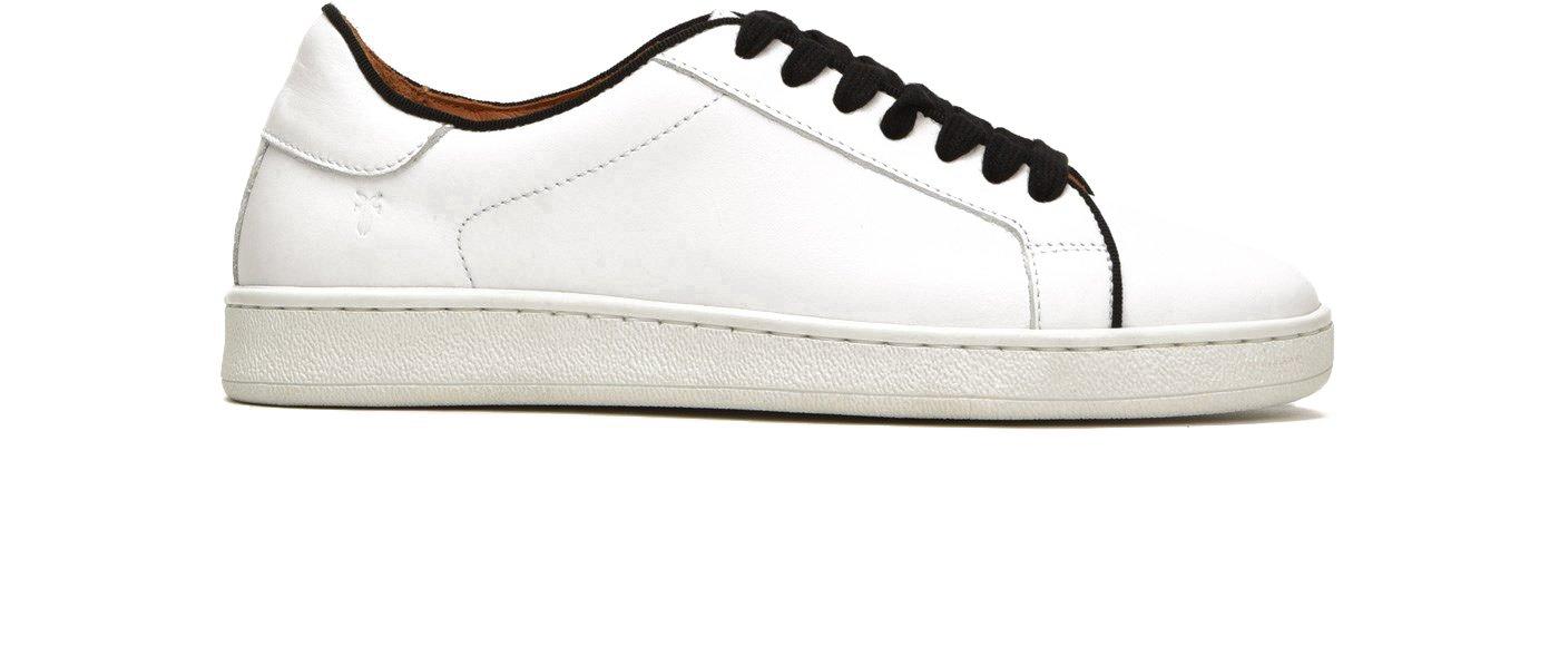 FRYE 79981 Women's Alexis Low Lace Sneaker B075ZXTMRN 11 B(M) US White/Black