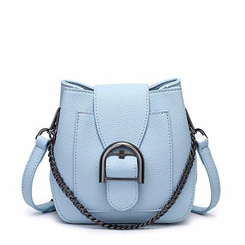 épaule 16 Blue 7 de chaîne cm sac coursier mode simple black 17 sac xtwqO0XRz7