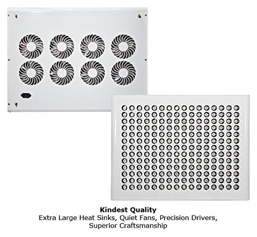 Kind K5 XL1000 LED Grow Light w/Rope Ratches and Active Eye glasses