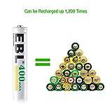 EBL AAAA Batteries, 1.2V 400mAh Ni-MH AAAA