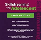 Skillstreaming the Adolescent Program Forms, Goldstein, Arnold and McGinnis, Ellen, 0878225501
