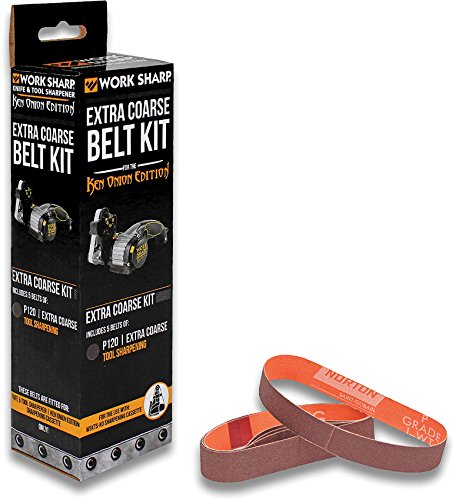 Work Sharp WSSAKO81117 Extra Coarse Grit Belt Kit