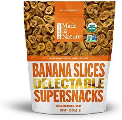 Dried Fruit & Raisins: Made in Nature Banana
