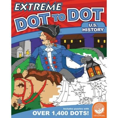 MindWare Extreme Dot to Dot: U.S. History Game -