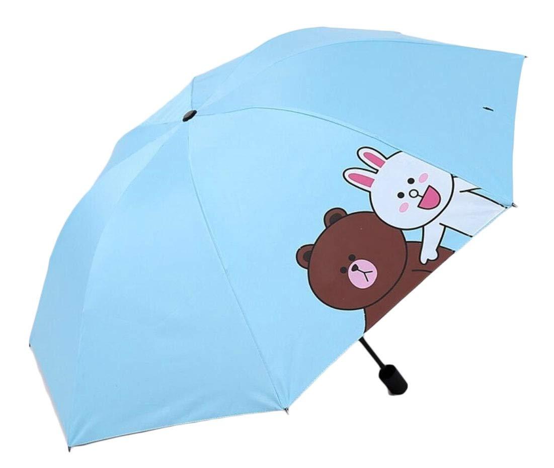 omniscient Windproof Waterproof Lightweight Umbrellas Compact Travel Umbrellas 6 OS