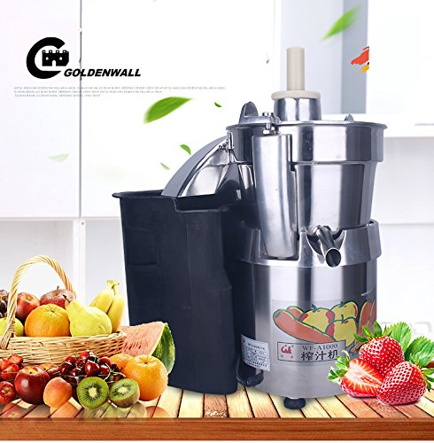 WF-A1000 Commercial large caliber Juice Extractor full stainless steel Juicer Juice machine Juicing machine Centrifugal Juicer Fruit and Vegetable juicer juice squeezer 750W 2800r/min 120-140kg/h by CGOLDENWALL (Image #3)