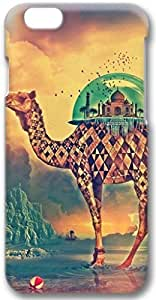 DaojieTM Generic Camel and Middle East Architecture Apple Iphone 6 4.7 Inch Case, 3d Iphone 6 Cases Hard Shell Cover Skin Casess