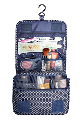 Cosmetic Makeup Bag Case, Hanging Toiletry Bag, Travel Organ