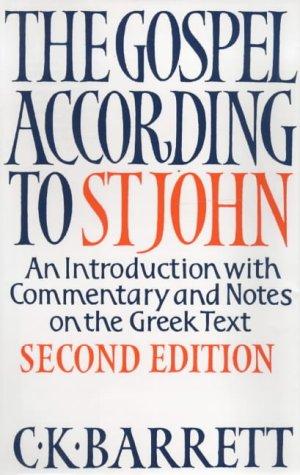The Gospel According to St.John