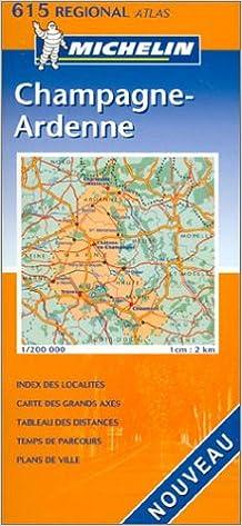 Livre Atlas routiers : Champagne-Ardennes, N°20615 pdf, epub ebook