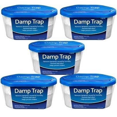 ASAB Dehumidifier Interior Damp Trap Humidity Mould Moisture Catcher Mildew Remover Prevents Condensation Bad Odours Caravan Home