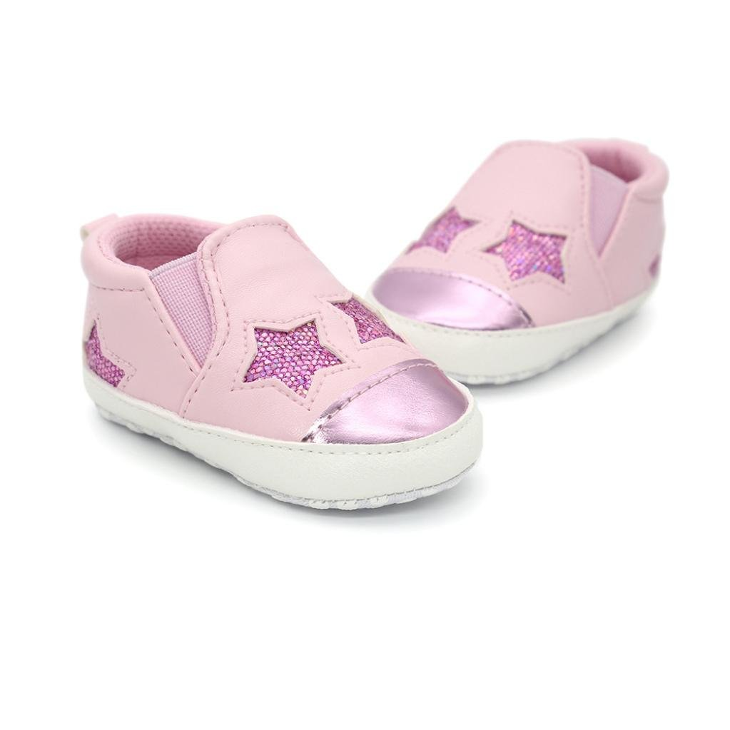 Newborn Baby Girl Boy Shoes Sneaker Anti-Slip Soft Sole Toddler Shors