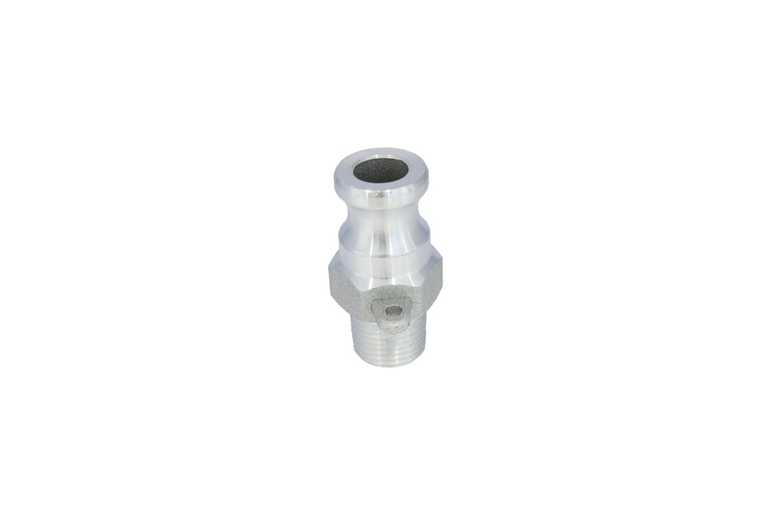 Dicsa ALF012 Camlock Type F, Aluminium, Male-Male Threaded BSP, 1/2' x DN 12 1/2 x DN 12