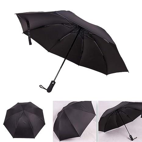 FYLINA Windproof Travel Umbrella Folding Umbrella AUTO Close AUTO Open Lightweig