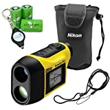 Nikon Forestry Pro Laser Rangefinder Hypsometer Bundle with 3 Viridian CR2 Batteries and a Lumintrail Keychain Light