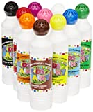 Crafty Dab Kids Paints - Set of 10 - Assorted Colors - Scented