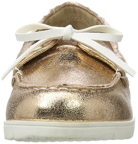 Femme Nude Shoes Nude Rose Metallic Xti Nude Ladies Mocassins wpR4Xn1q