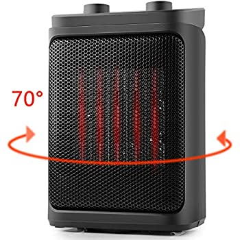 Amazon Com 1500w Oscillating Ceramic Tower Heater With