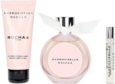 Rochas Mademoiselle Lote 3 Pz 200 g: Amazon.es: Belleza