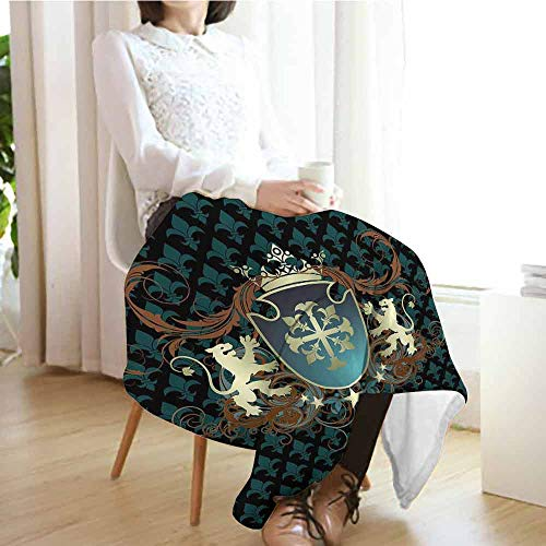 Medieval Coat Of Arms - Blanket Warm Winter Sofa 80
