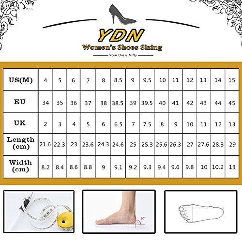 YDN Women Sexy Pointed Toe Wedge Pumps Hidden Low Heel Slip on Dress Shoes for Office Lady Pink cheap limited edition LIv9d