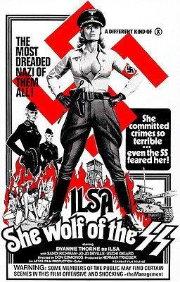 Ilsa She Wolf of The SS - 1975 - Movie Poster