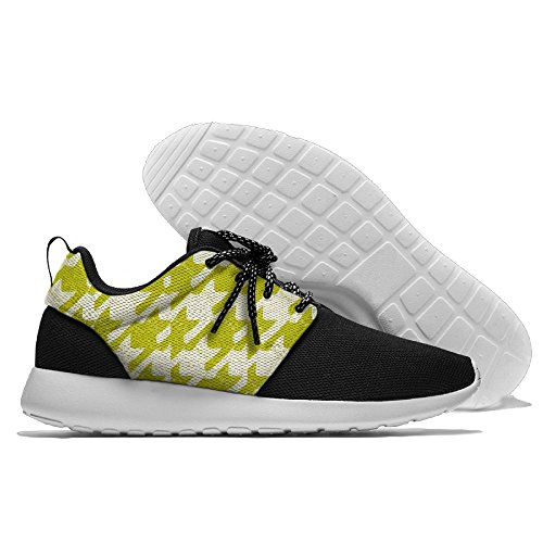 CREAMYARD Mens Funny Black Cat Breathable Mesh Leisure Sports Shoes Printing Soft Sole Sports Running Shoes MQs1rc