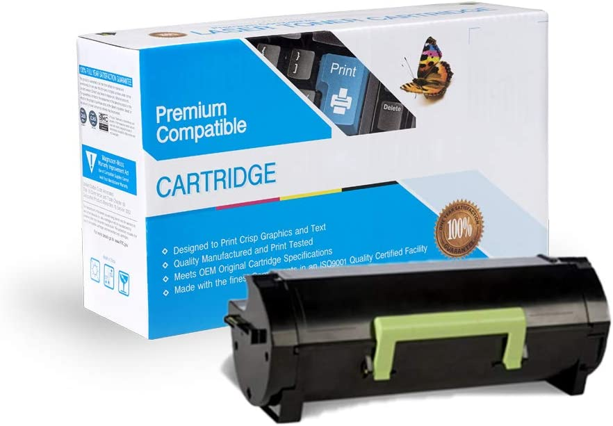 Black COS Imaging Compatible Ink Cartridge Replacement for Lexmark 24B6015.