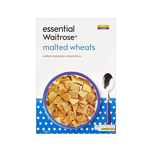 Malted Wheats essential Waitrose 750g - Pack of 2 by WAITROSE