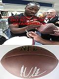 Marcus Lattimore Autographed Football - sf south Carolina coa Proof - Autographed Footballs