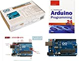 arduino starter kit deluxe - Arduino Starter Kit for Beginners Includes Official Arduino.cc K000007 Kit and Sams Teach Yourself Arduino Programming In 24 Hrs And Exclusive SPEED-KITS Arduino PIN OUT Quick Reference Chart