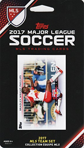 New York Red Bulls 2017 Topps MLS Soccer Factory Sealed 8 Card Team Set with Bradley Wright Phillips plus