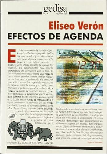 Efectos de agenda (Mas Madera): Amazon.es: Eliseo Veron: Libros