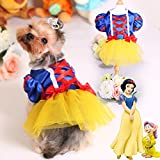Colorfulhouse Princess Puppy Dress Small Pet Apparel Teddy Dog Skirt (M)