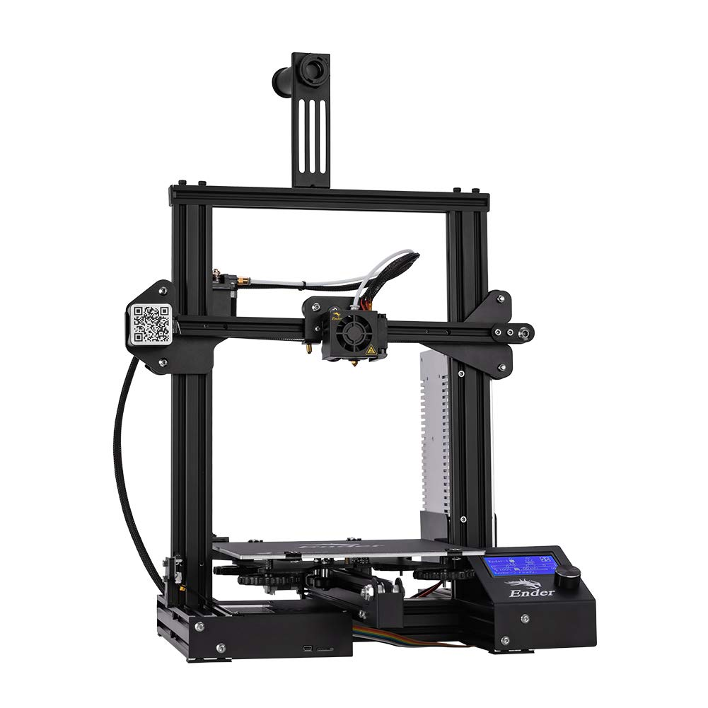 Creality Ender 3 3d Printer Fully Open Source With Resume Printing All Metal Frame Fdm Diy Printers 220x220x250mm Amazon Com Industrial Scientific
