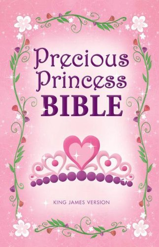 KJV, Precious Princess Bible, Hardcover